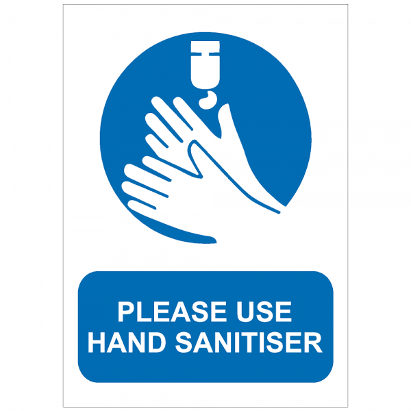 COV04 - Please use hand sanitiser 210 x 297mm