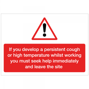 COV11 - If you develop a peristent cough 420 x 297mm