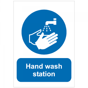 COV27 - Hand wash station