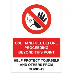 COV42 Use hand gel