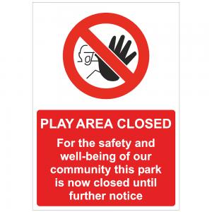 COV45 Play area closed